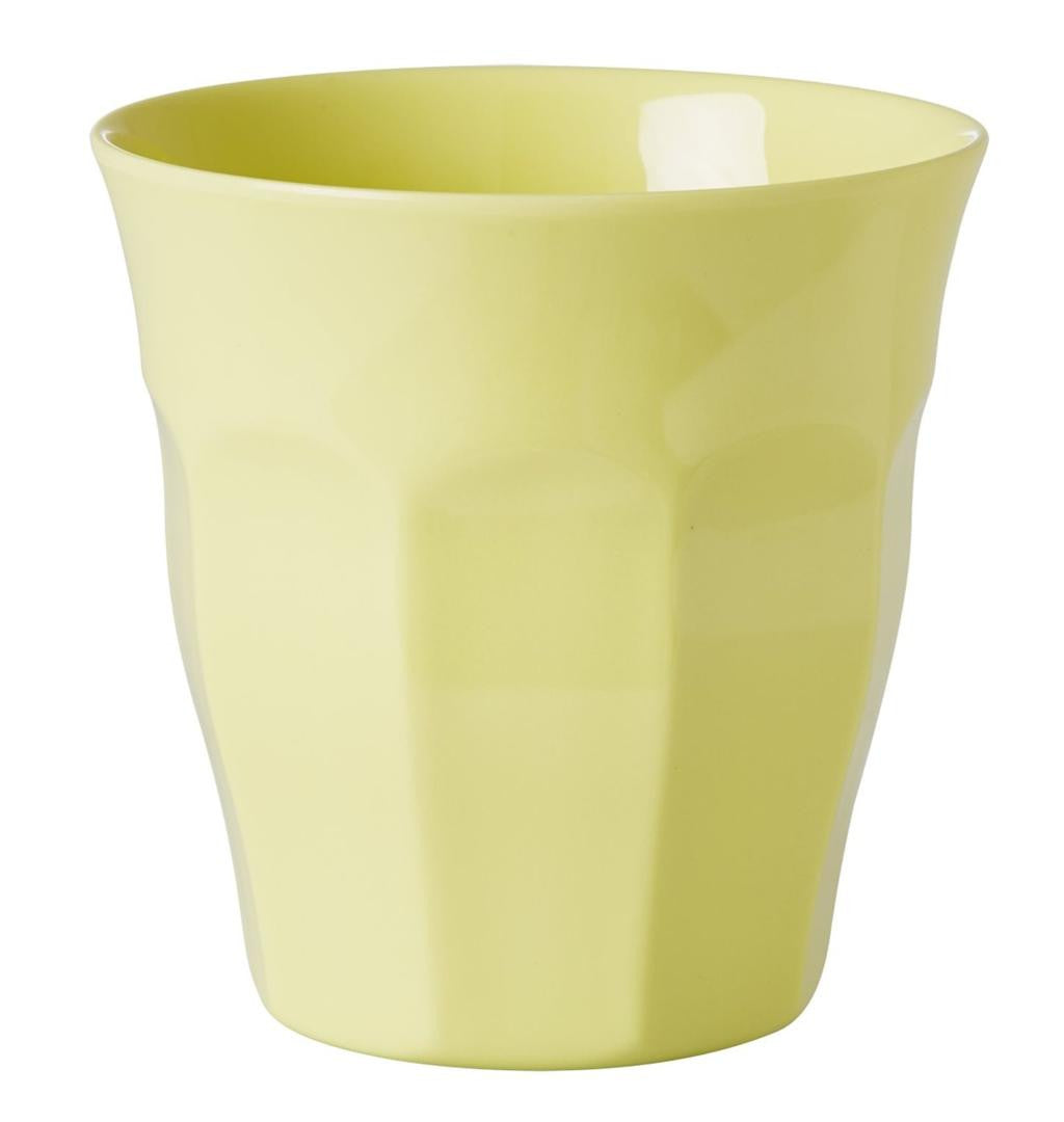 Rice DK Pastel Yellow Melamine Cup