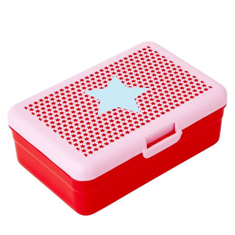 Rice DK | Big Red Blue Star Lunch Box
