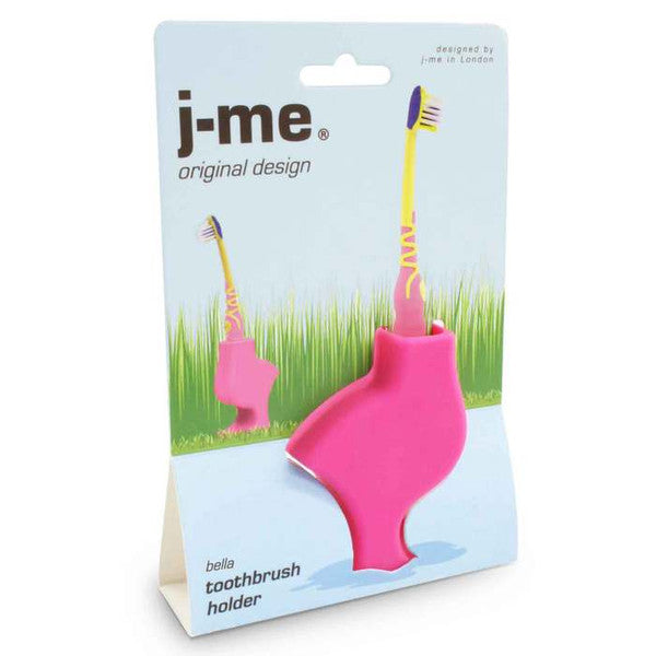 J-me | Pink Bird Toothbrush Holder