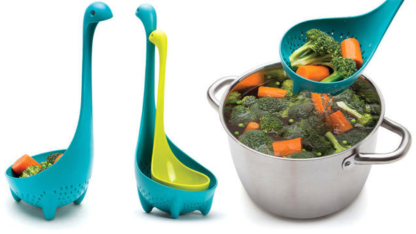 Set Of Nessie Ladle and Mamma Nessie Colander | Ototo | Ototo - FREE SHIPPING