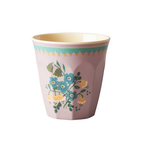 Rice Dk | Two Tone Melamine Cup Flower Print