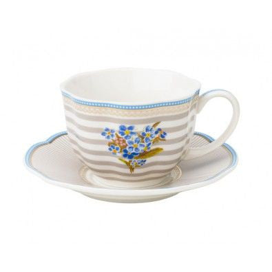 Lisbeth Dahl | Set of 2 Tea Beach Porcelain Cups