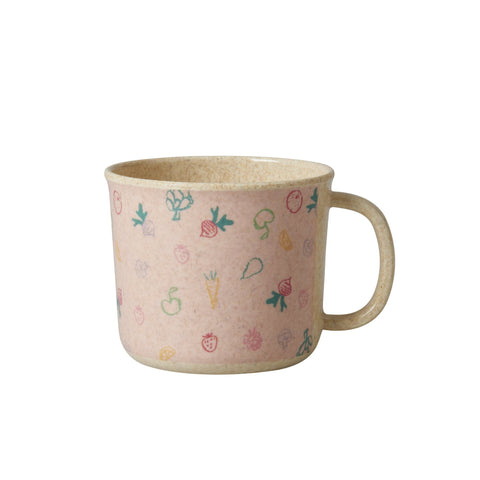 Rice DK | Baby Bamboo Melamine Cup with Girls Cooking Print