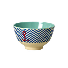 Rice DK | Two-Tone Small Melamine Bowl Various Prints