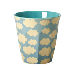 Rice Dk | Two Tone Melamine Cup Cloud Print