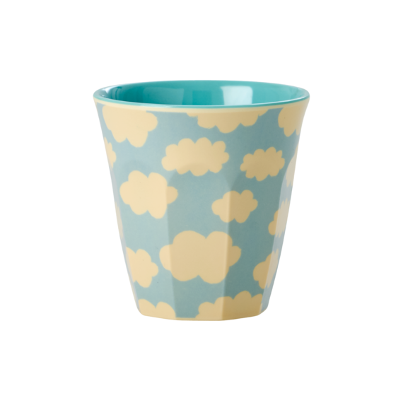 Rice DK | Kids Small Melamine Cup with Cloud Print