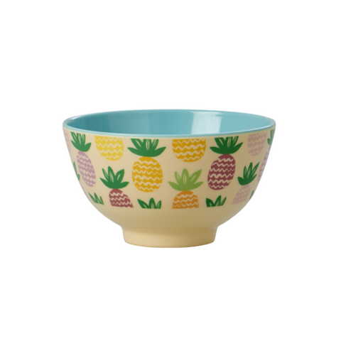 Rice DK | Small Melamine Bowl with Pineapple Print