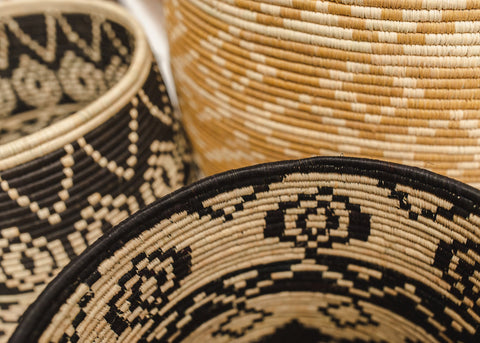 Aluna Raffia Large Floor Basket
