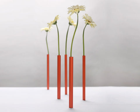 Peleg Design free standing Magnetic Vases | Funky home Accessory gifts