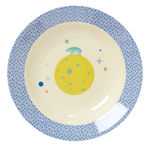 Rice DK | Melamine Bowl with Blue Universe Print