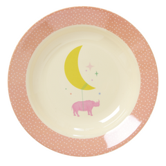 Rice DK | Melamine Bowl with Pink Universe Print