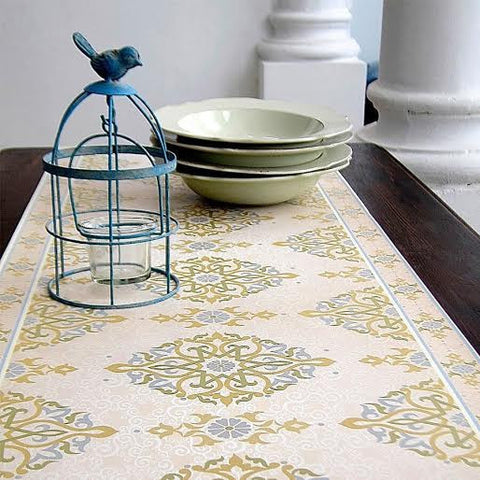 Tiva Design | Cream Designed Runner