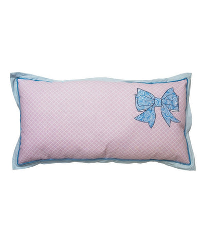 Lisbeth Dahl | Bow Tie Print Throw Pillow