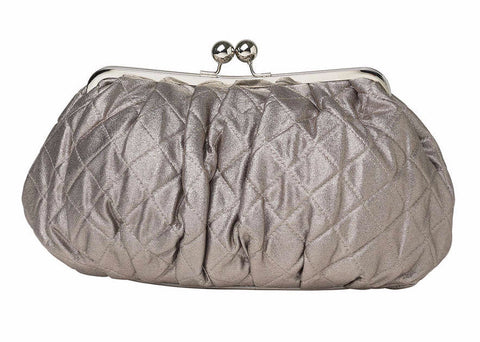 Molly Marais | Large Silver Clutch Bag
