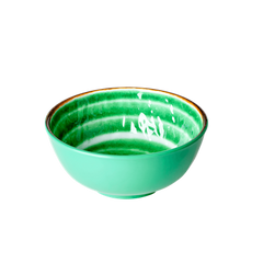 Rice Dk Swirl Print bowls in Assorted Colors