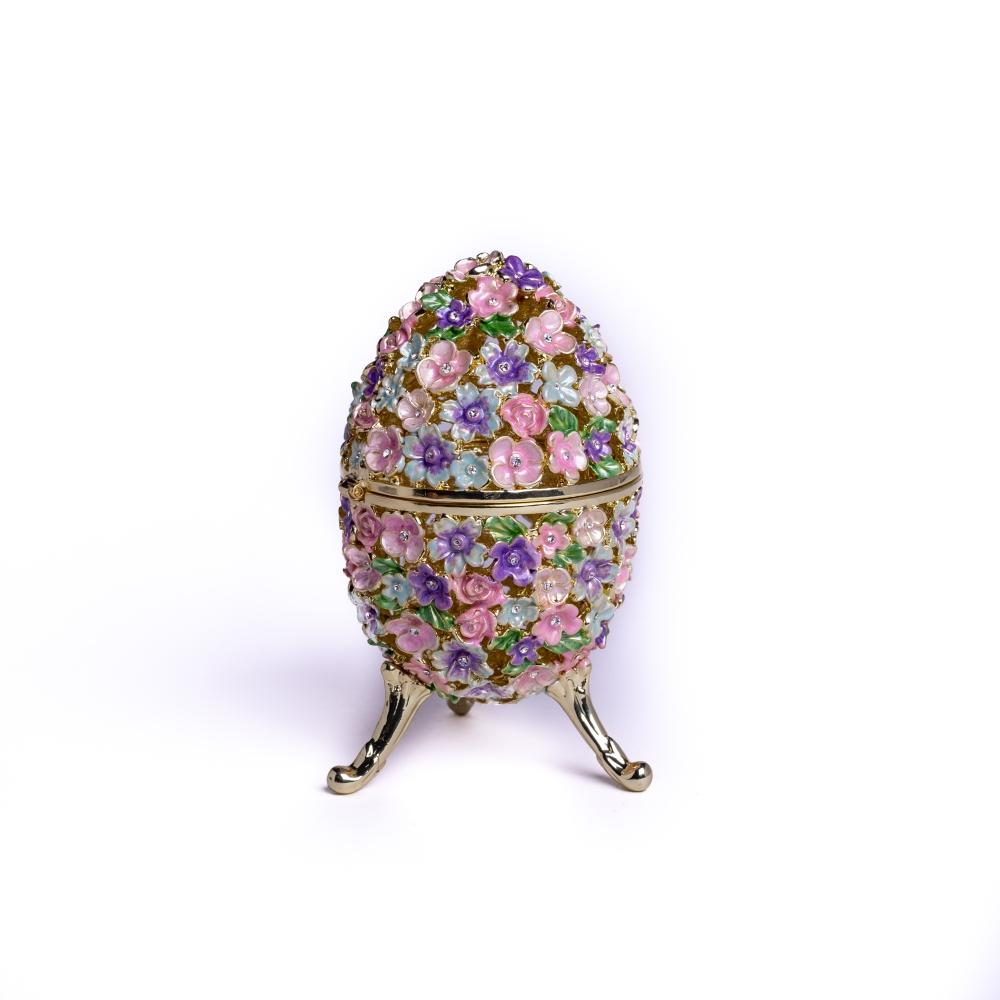Russian Egg Decorated with Flowers