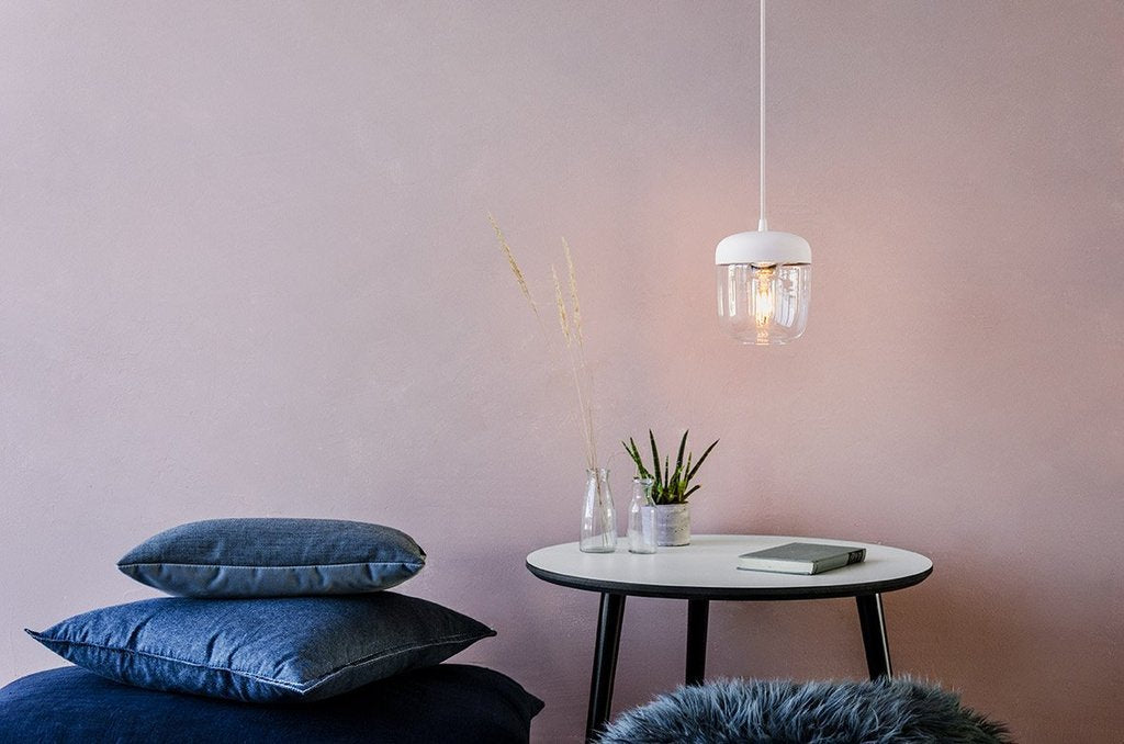 Umage Lighting | Acorn Glass Copper Lamp Shade