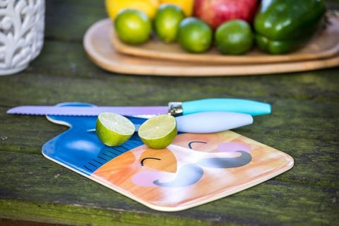Rice Dk | Melamine Cutting Board Face Print