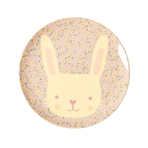 Rice DK | Animal Kids Lunch Plate Bunny Print