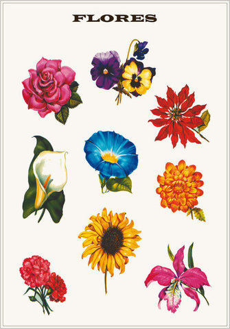 Kitsch Kitchen | Flower Poster