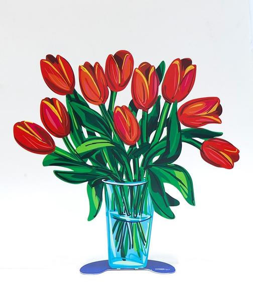 David Gerstein | Tulips Vase Small - Side 2
