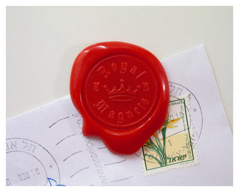 Peleg- Design-Royal-Magnet Wax Seals