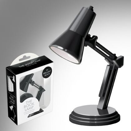 Balvi | Retro Black Book Lamp