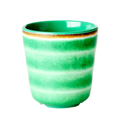 Rice Dk Swirl Print cups in Assorted Colors