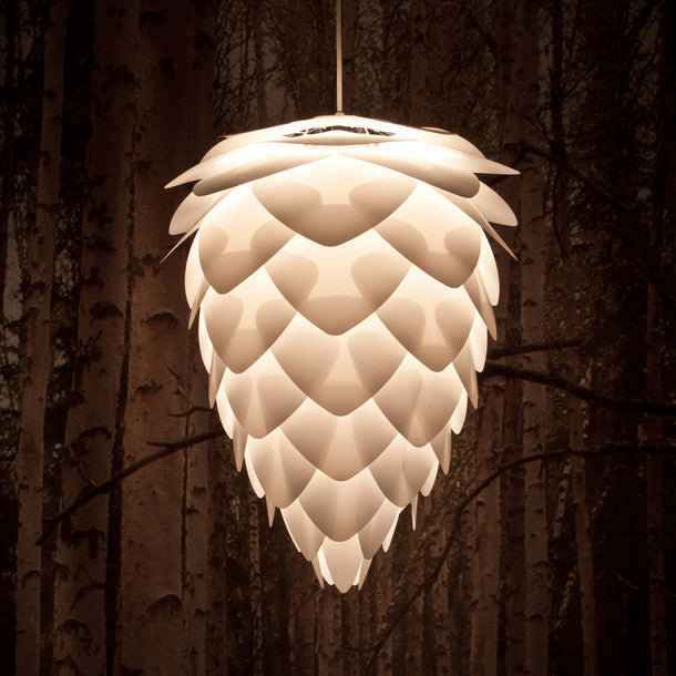 Vita Living Mini Conia White Pendant Shade