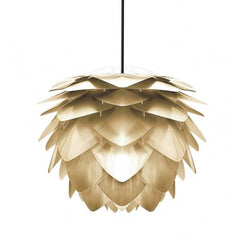 Vita Lighting | Large Silvia Gold Pendant Shade