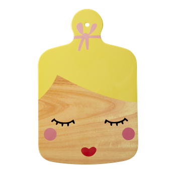 Rice Dk | Melamine Cutting Board with Cute Face Print