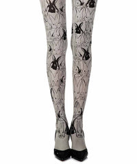 Zohara My Little Bunny Print Tights