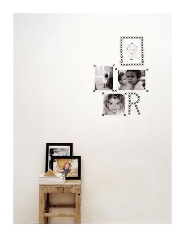 Wall Decal Black X Stickers | Tayo Studio
