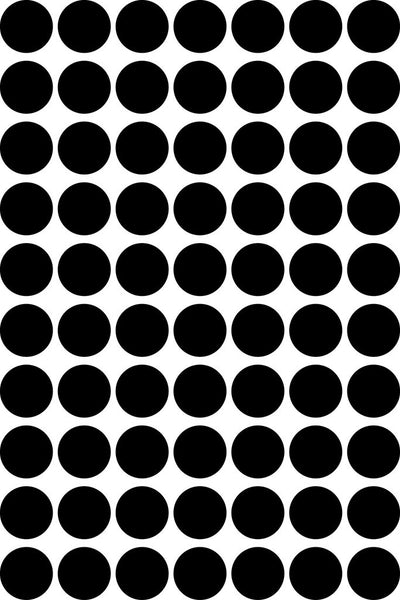 Wall Decal Black Dot Stickers | Tayo Studio