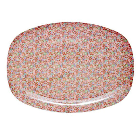 Rice DK Melamine Trays | Colorful Small Flower Print