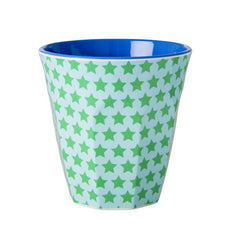 Rice DK | Two Tone Melamine Cup Star Print