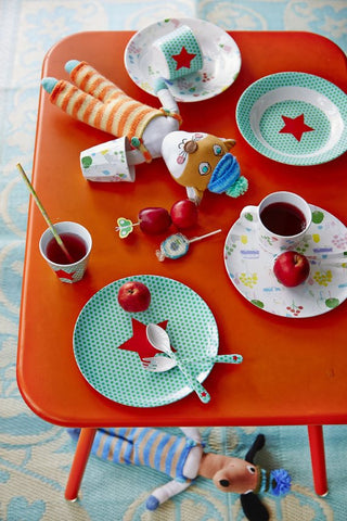 Rice DK KIds' Star Print Melamine Collection