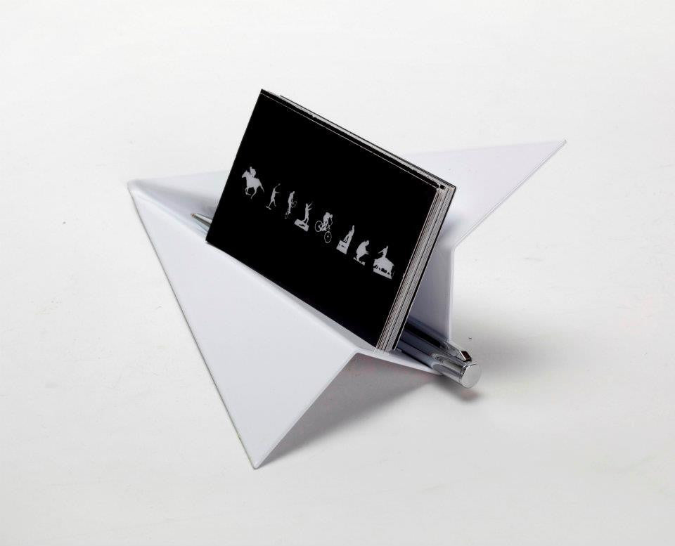 Artori design paper plane business cards holder bellakoola artori design paper plane business cards holder bellakoola colourmoves