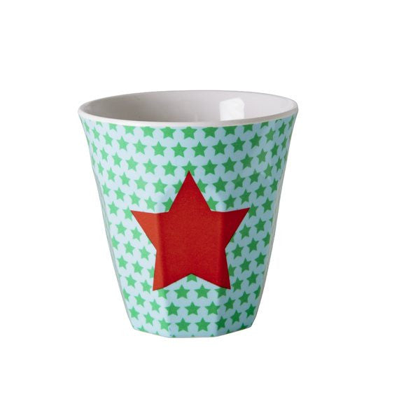 Rice DK | Kids Melamine Cup with Red Star Print