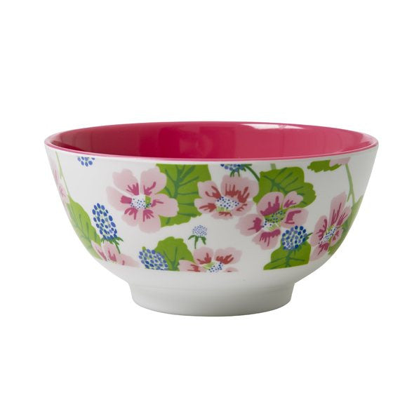 Rice DK Melamine Flower and Berry Print Bowl