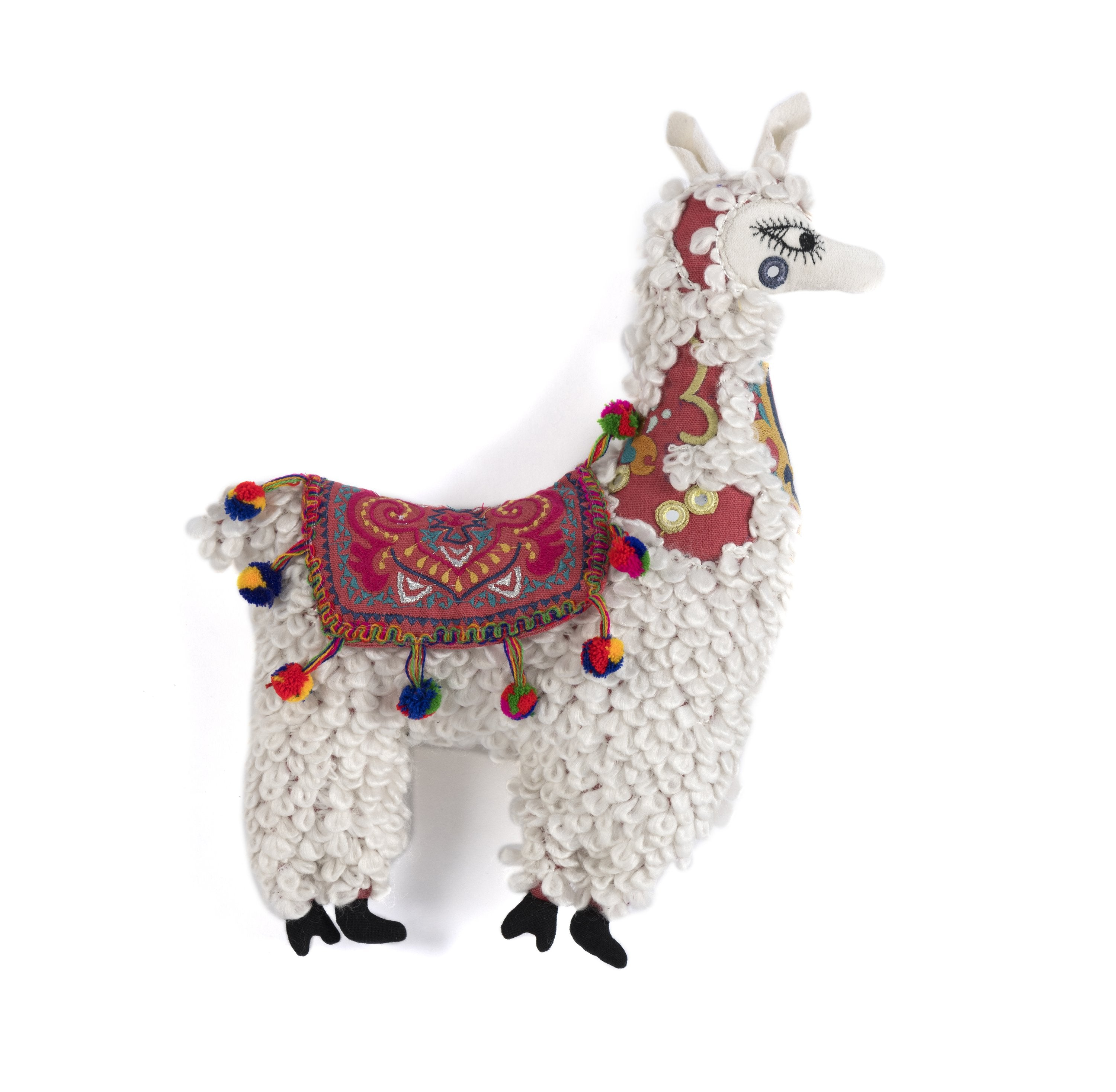 Cotton Llama Pillow