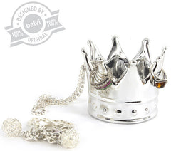 Balvi | Ring Holder Royal Silver Ceramic