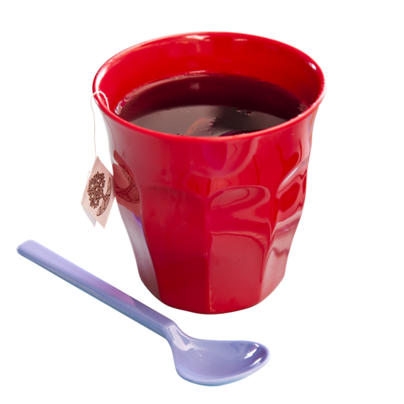Rice DK Red Melamine Cup