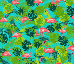 Kitsch Kitchen | Flamingo Shower Curtain