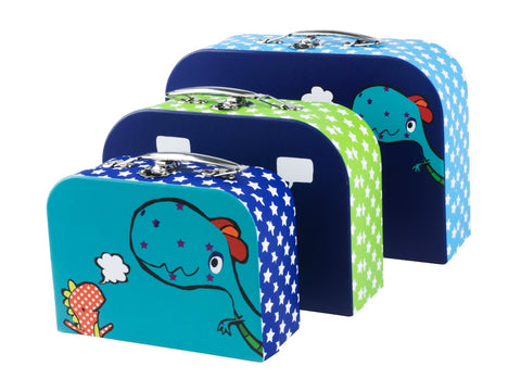 Set of 3 Zoo Planet Suitcases | Animi