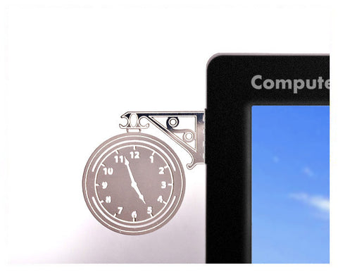 Peleg Design Train Clock Computer Jewelry | cool Gifts for guys