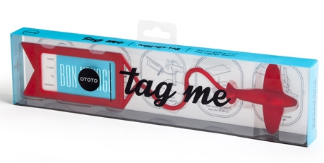 Tag Me - Red Luggage Tag | Ototo