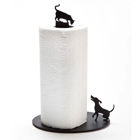 Artori Design | Dog Vs. Cat Red Paper Towel Holder