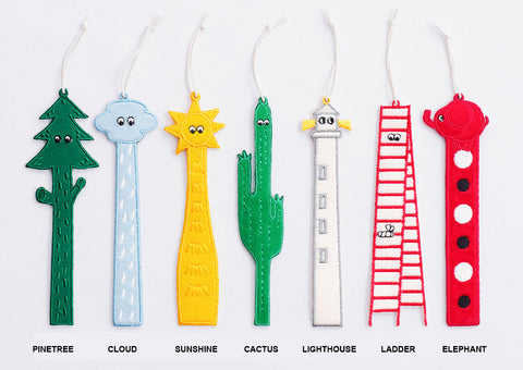 Toconuts | Embroidery Friends Bookmark Collection
