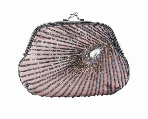 Lisbeth Dahl Feather Bead Clutch